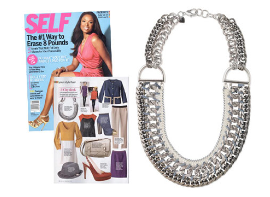 "... issue of Self magazine in their ""Fall Trend Report."