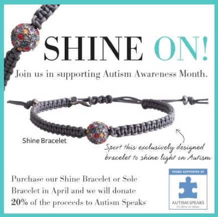 tagged bracelet autistic bracelets expandable gift bangle awareness puzzle crystal ribbon silver wire adjustable piece collections charm img autism